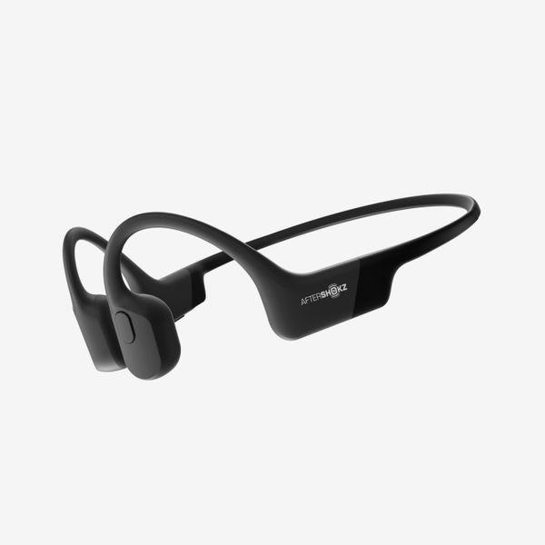 AfterShokz Aeropex Open-Ear Wireless Bone Conduction Headphones