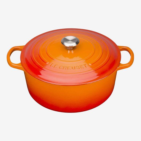 Le Creuset Signature Enamelled Cast Iron Round Casserole Dish, 24 cm