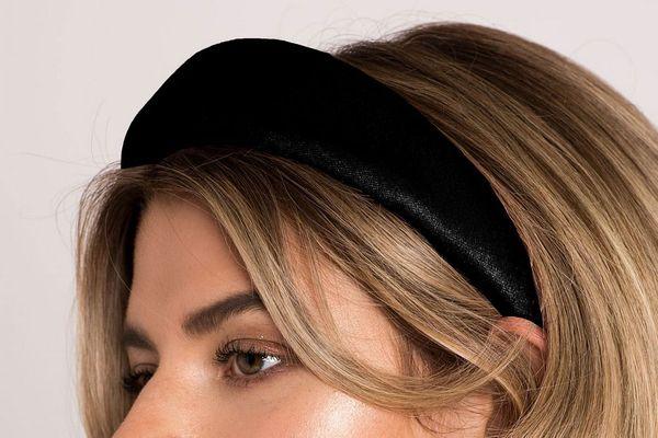 Soho Style Uptown Girl Padded Velvet Headband