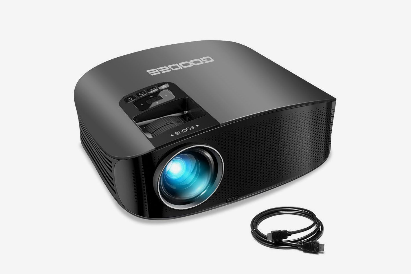 "GooDee Video Projector 200"" LCD Home Theater Projector"