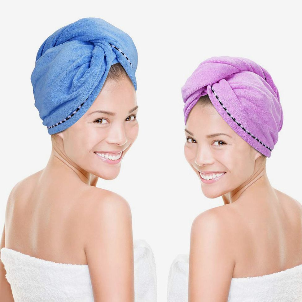 Strong Water Absorbing Microfiber Dry Hair Towel Bathing Shower Dry Towel $TBB