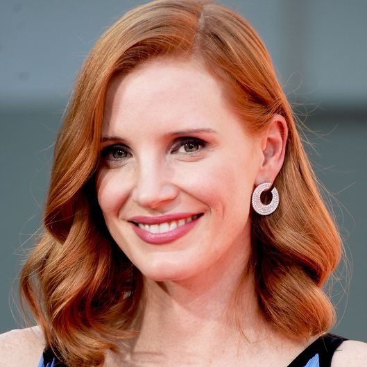 Jessica Chastain Hand And Footprint Ceremony