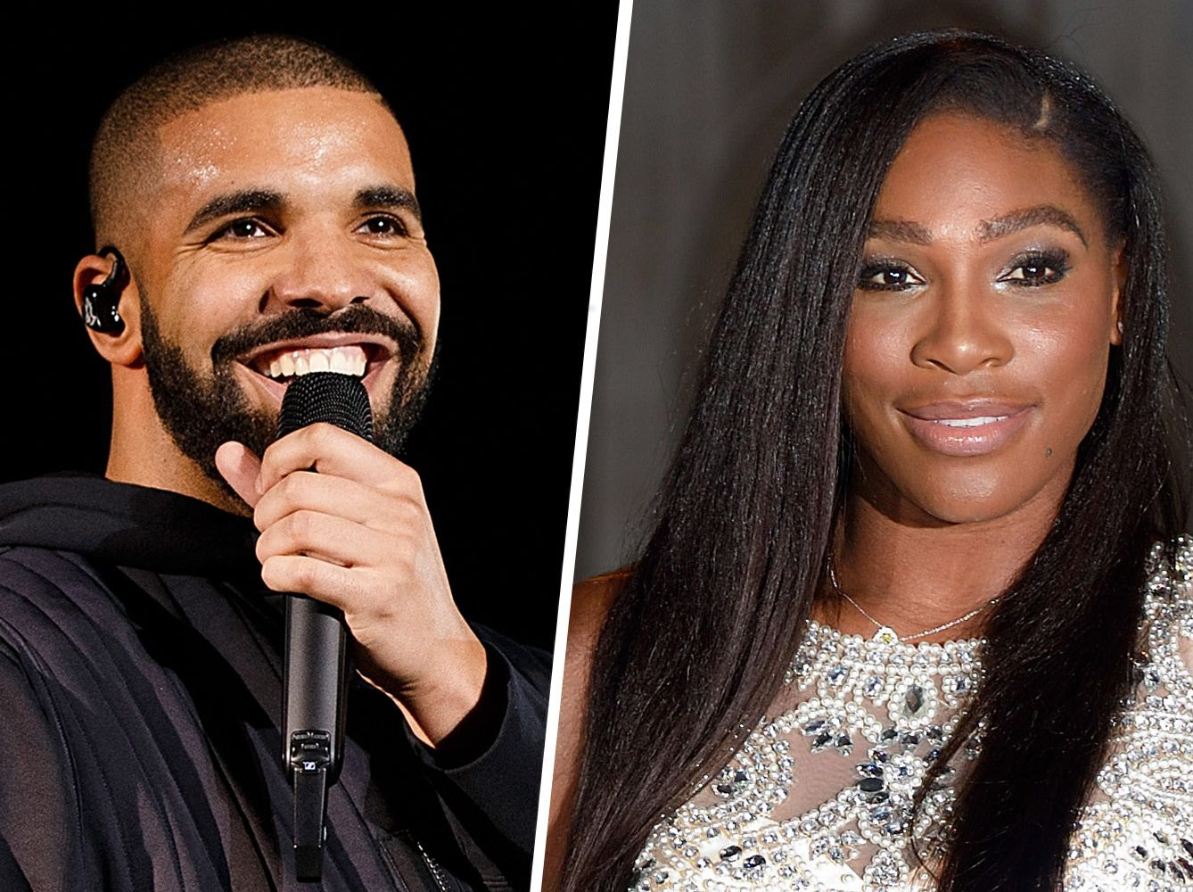 Drake Cheers On Serena At NYFW Like A Good Boyfriend