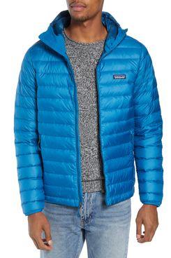 Packable Windproof & Water Repellent Down Hooded Jacket