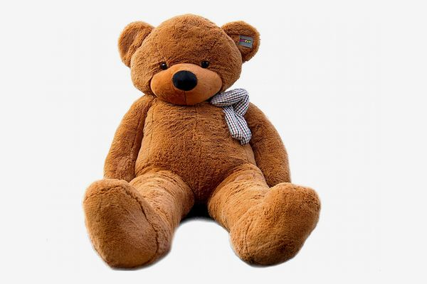 Joyfay - Giant Teddy Bear, Dark Brown, 6.5 Feet Tall