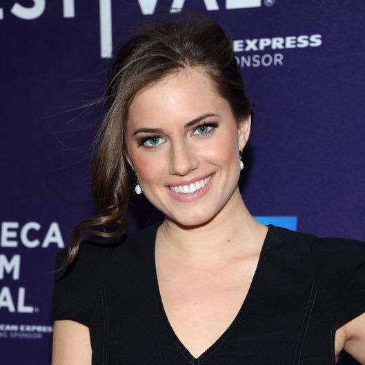 "NEW YORK, NY - APRIL 21:  Allison Williams attends the premiere of ""The Carrier"" during the 2011 Tribeca Film Festival at AMC Loews Village 7 on April 21, 2011 in New York City.  (Photo by Jason Kempin/Getty Images)"