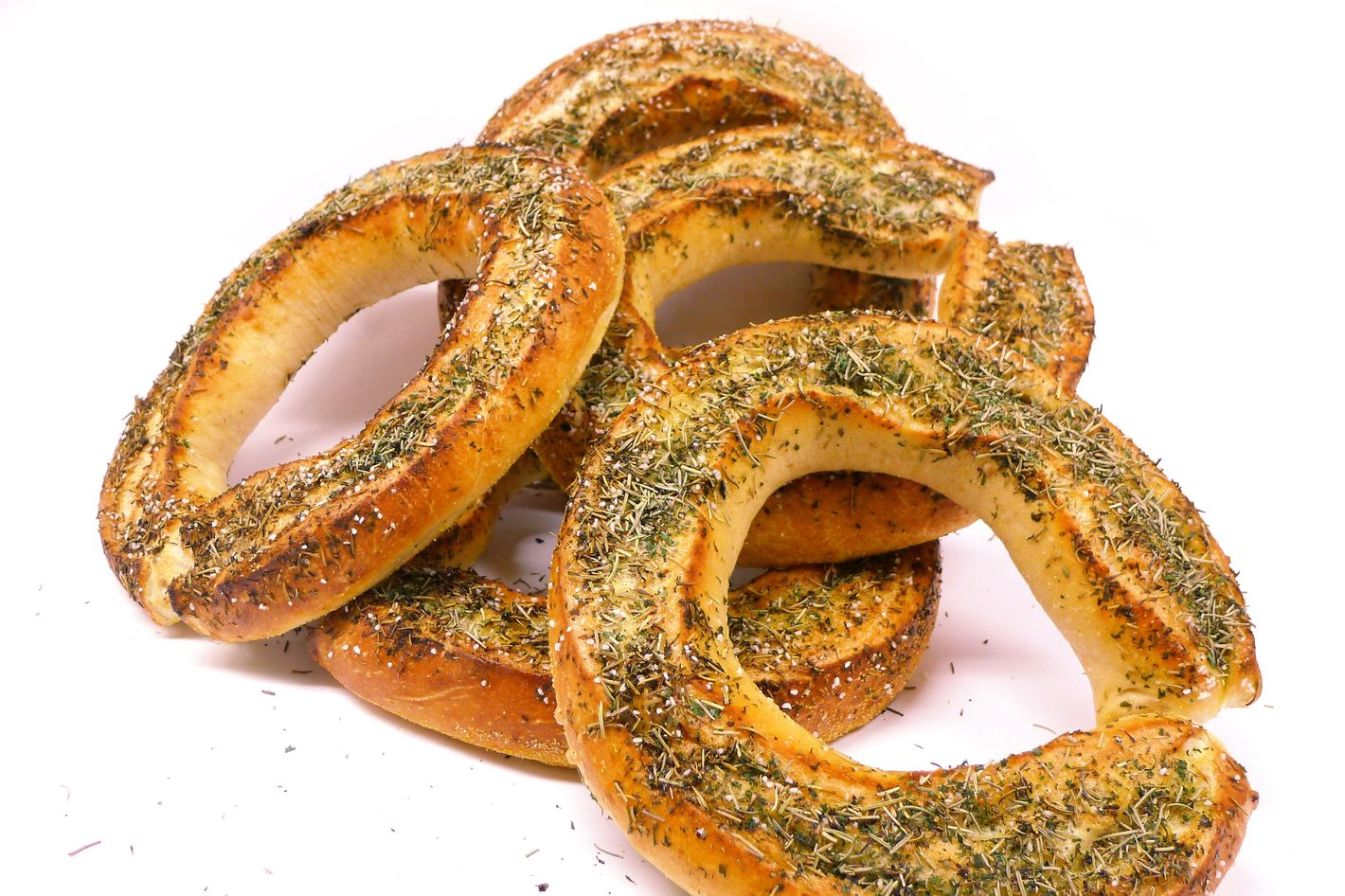 """""""Scarborough Fairway"""" bread, made with parsley, sage, rosemary, and thyme."""