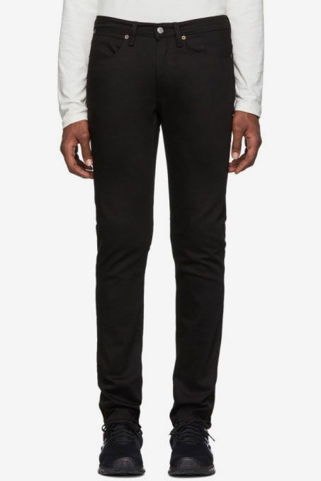 Acne Studios Max Slim Fit Jeans, Stay Black