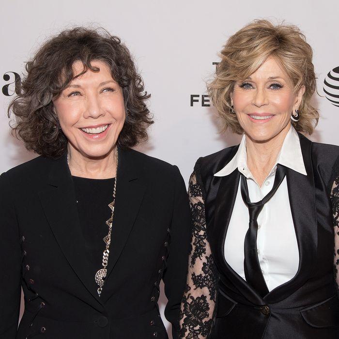 Jane Fonda and Lily Tomlin.