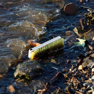 USA - Environment - Trash and Pollution in the Hudson River