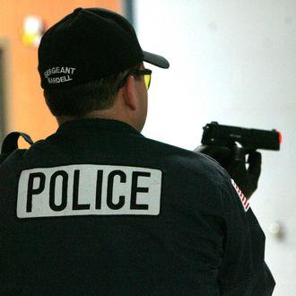 USA - Law Enforcement - School Shooting Training Drill