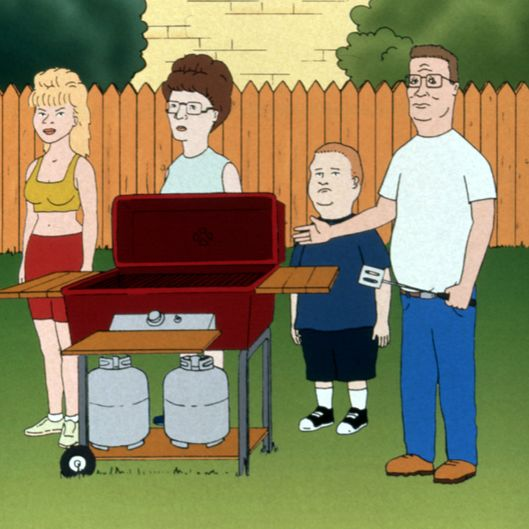 KING OF THE HILL, Luanne Hill, Peggy Hill, Bobby Hill, Hank Hill, 1996-present. TM and Copyright - 2