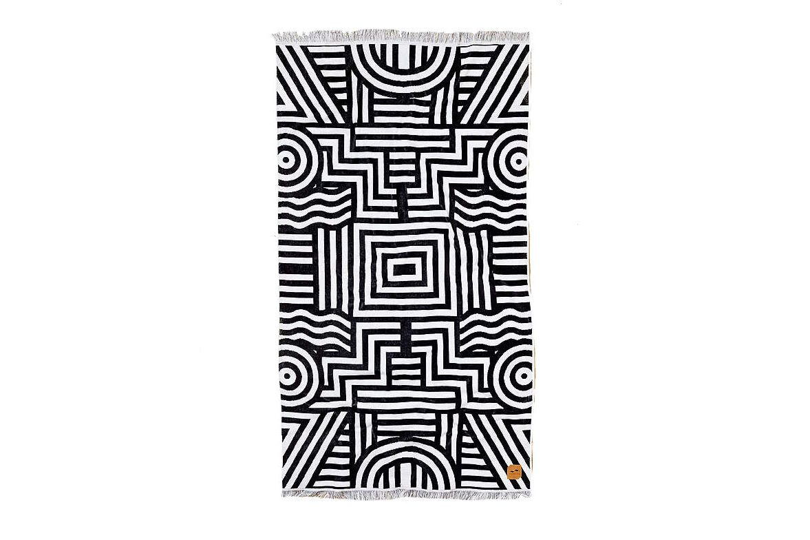 Slowtide Visions Beach Towel