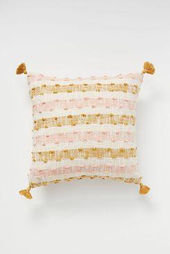Anthropologie Ezra Plaid Pillow