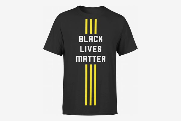 Black Lives Matter Official 3 Stripe Streak Unisex Tee