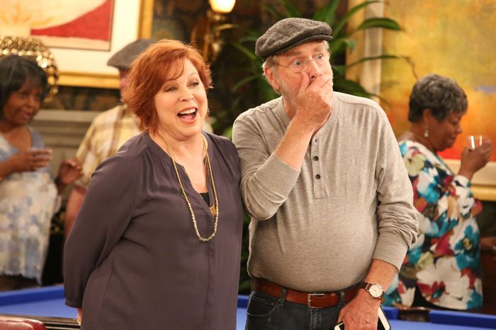 Vicki Lawrence and Martin Mull on The Cool Kids.