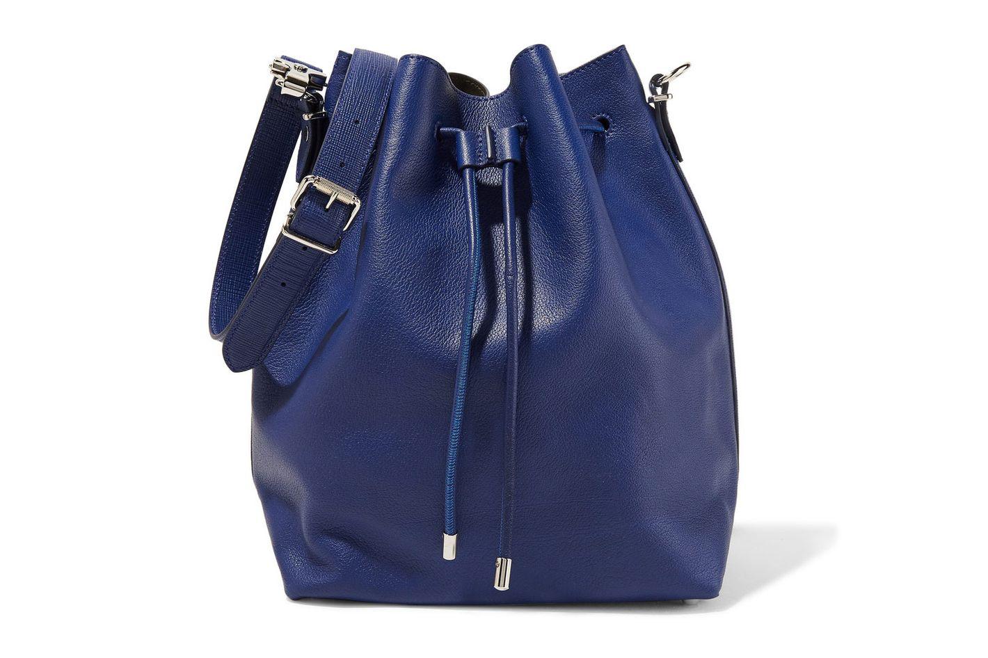 Proenza Schouler Large textured-leather bucket bag