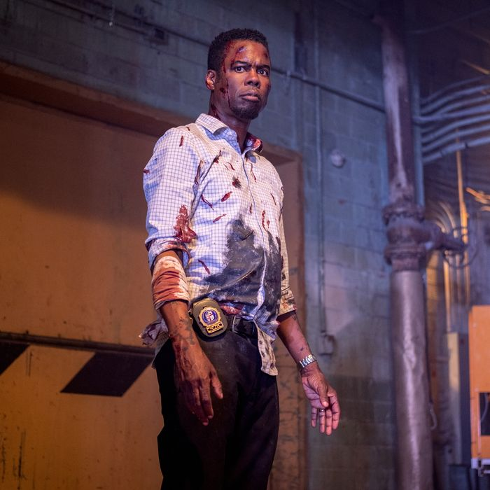 Chris Rock in Spiral: From the Book of Saw.