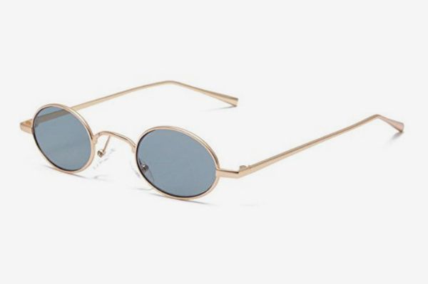 MINCL/Fashion Small Oval Sunglasses