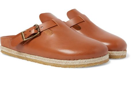 Yuketen Bostonian Leather Slides