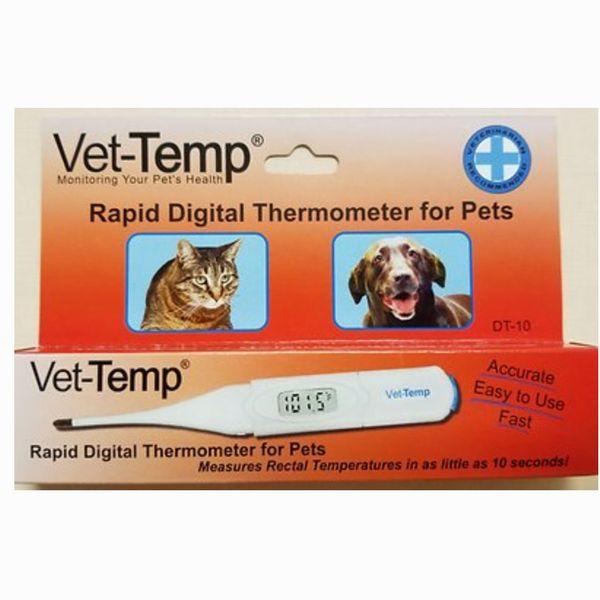 Vet-Temp Rapid Digital Pet Thermometer