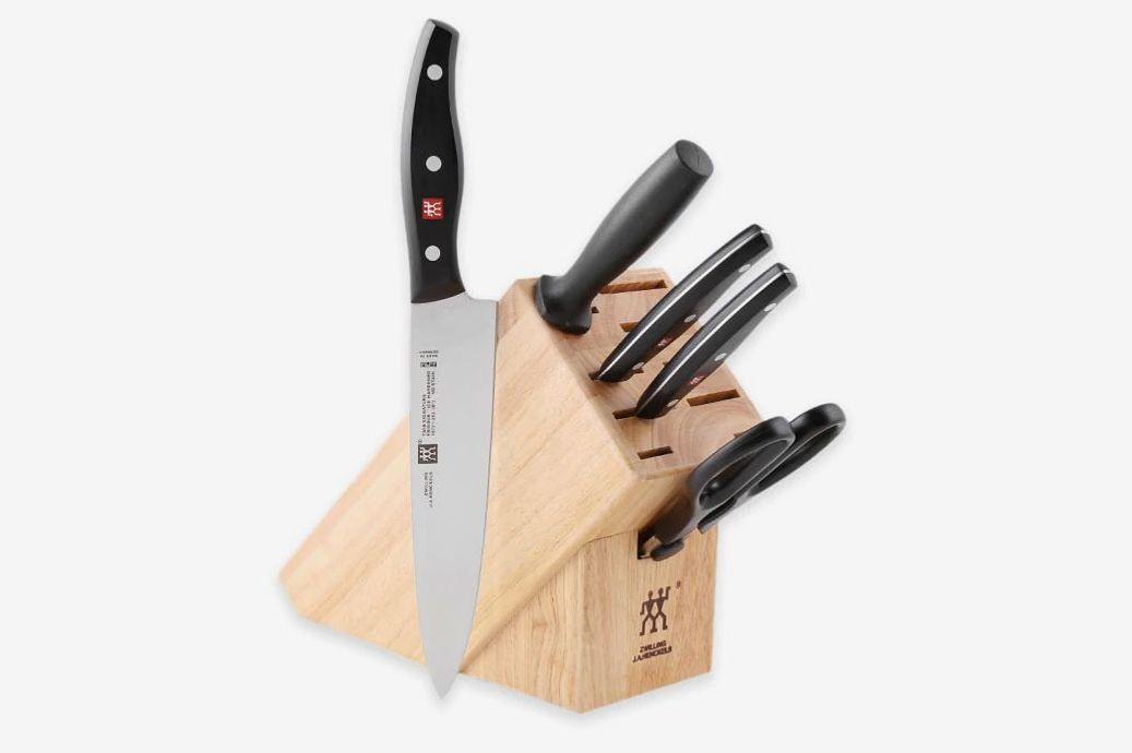 Zwilling J.A. Henckels Twin Signature 6-Piece Knife Block Set