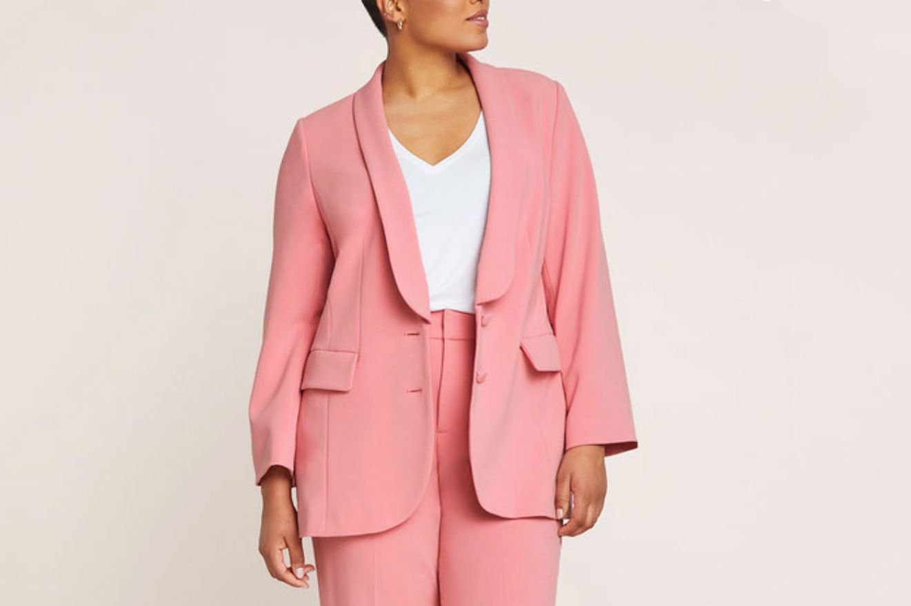 Eloquii Button Detail Blazer
