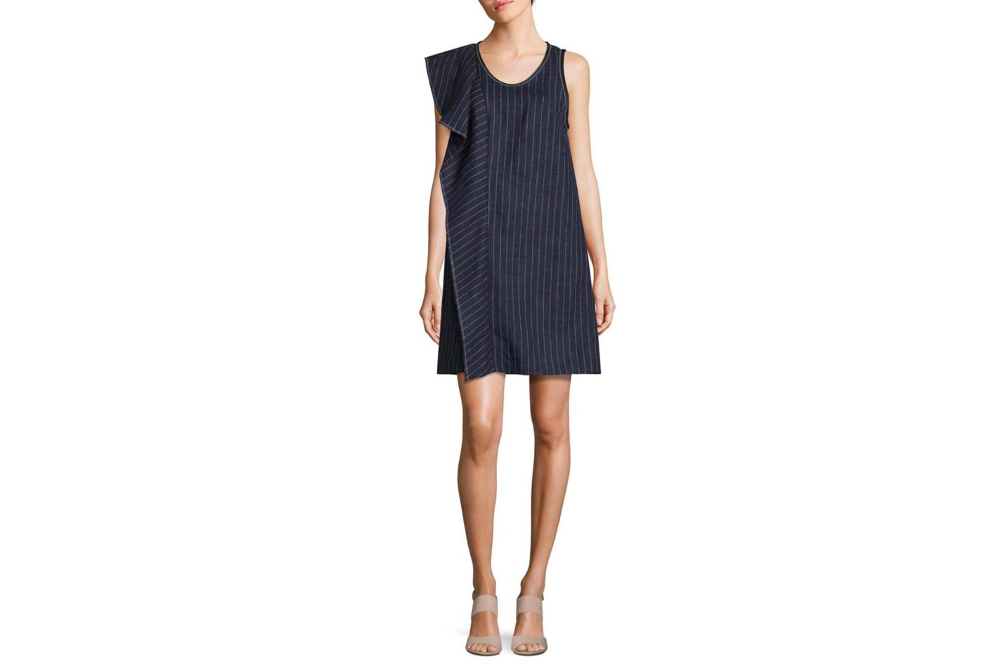 3.1 Phillip Lim Pinstripe A-Line Dress