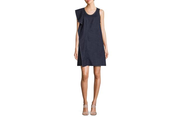 3.1 Phillip Lim Pinstripe A-Line Dress