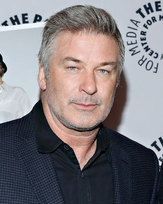 NEW YORK, NY - FEBRUARY 19: Actor Alec Baldwin attends the
