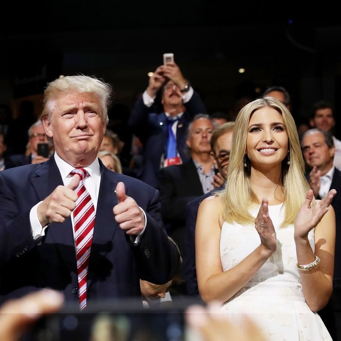 Meet Donald Trump's one and only female cabinet member: Ivanka Trump.