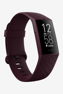 Fitbit Charge 4 Fitness and Activity Tracker with Built-in GPS, Heart Rate, Sleep & Swim Tracking, Rosewood