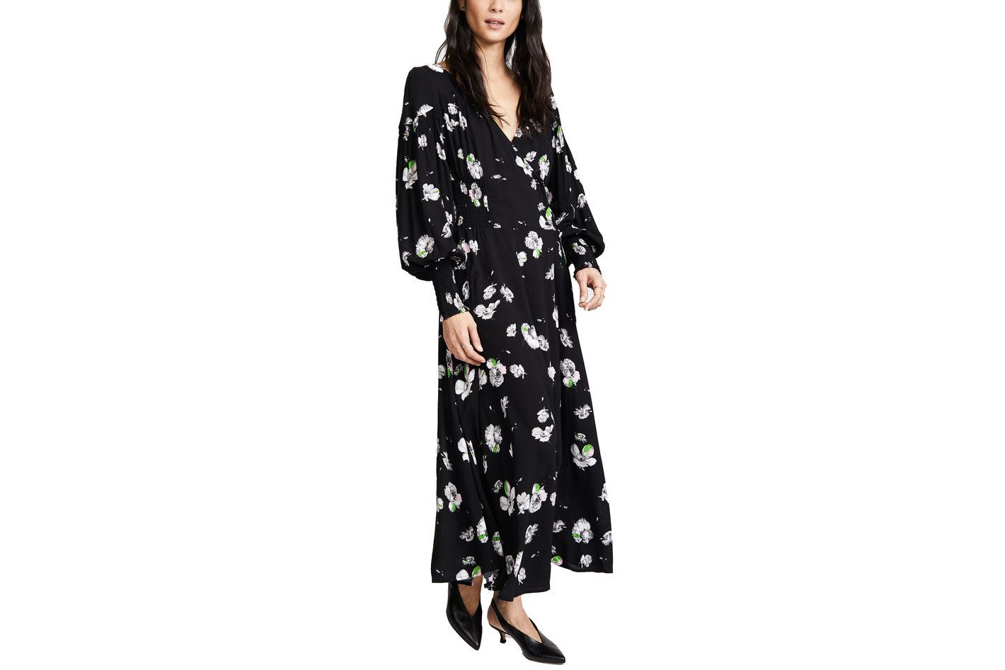 Free People So Sweetly Midi Dress