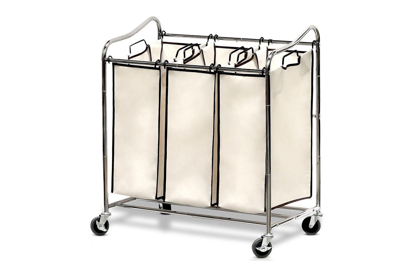 Simple Houseware Heavy-Duty 3-Bag Laundry Sorter