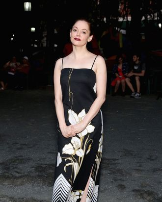 NEW YORK, NY - JULY 11: Film director Rose McGowan attends