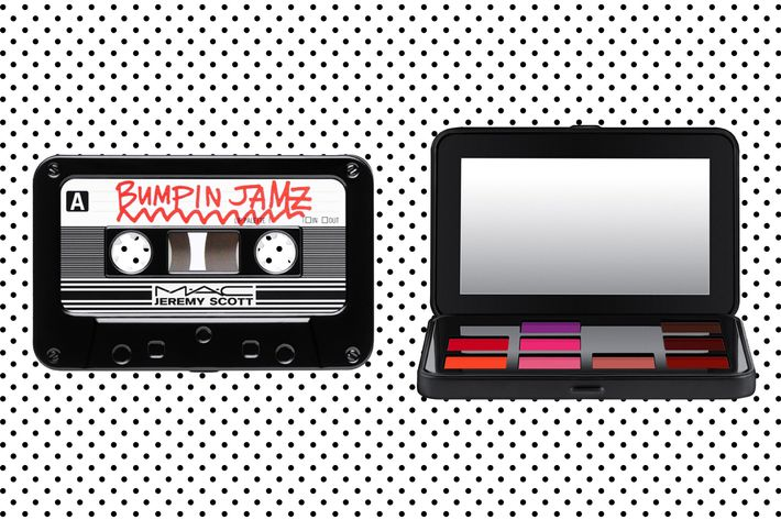 Future Emotion Jeremy Scott x M.A.C Cosmetics lip palette.