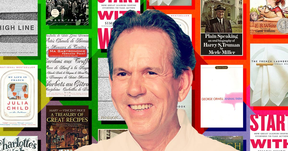 Thomas Keller's 10 Favorite Books