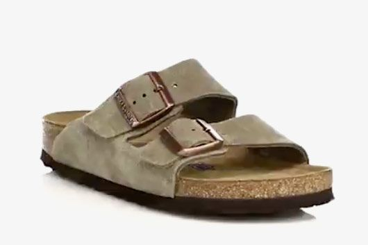 8d940b53abb Birkenstock Arizona Suede Sandals at Saks Fifth Avenue