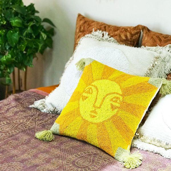 Jungalow Emuna Hook Pillow by Justina Blakeney