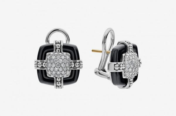 Black Caviar Diamond Earrings