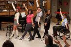 "GLEE: The glee club performs in the ""Goodbye"" season finale episode of GLEE airing Tuesday, May 22 (9:00 - 10:00 PM ET/PT) on FOX. Pictured L-R: Lea Michele, Amber Riley, Chris Colfer, Jenna Ushkowitz and Kevin McHale. ©2012 Fox Broadcasting Co. CR: Adam Rose/FOX"