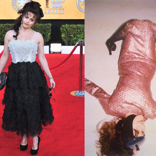 Bonham Carter at the SAG awards, and in the fall Marc Jacobs campaign.