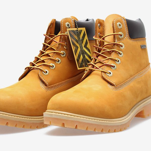 Zanco Waterproof 6-Inch Construction Work Boot, Wheat