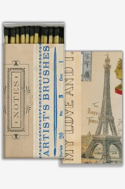 John Derian Floral Matchboxes