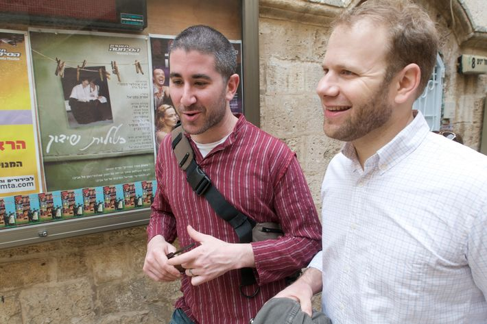 Solomonov and Cook in Israel.