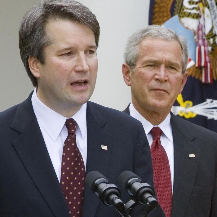 George W Bush Is Whipping Votes For Brett Kavanaugh