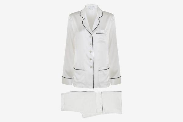Olivia von Halle Coco Silk Pajamas