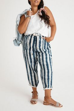Anthropologie Victoire Tie-Dye Cargo Pants