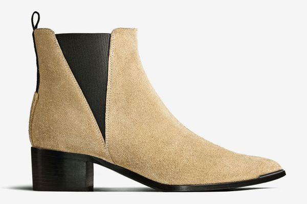 Jensen Suede Beige Boots