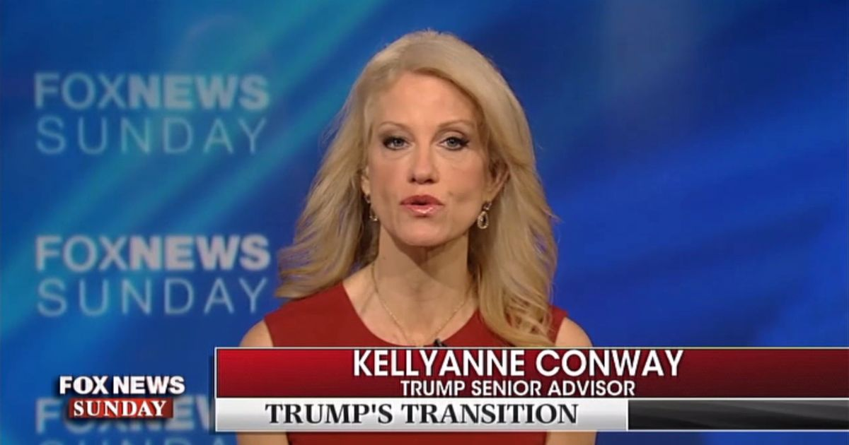 Conway Says Reid Should Be 'Very Careful' Criticizing Trump